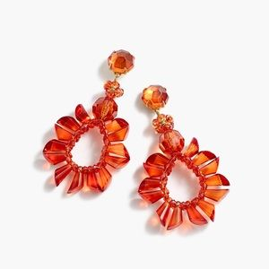 NWT J. Crew Wreath earrings
